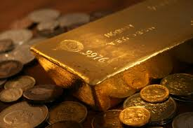 gold_bar and coins